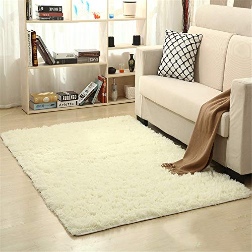Thickened Anti-Slip And Moisture-Proof Carpet For All Seasons, European-Style Superfine Fiber Skin-Friendly Soft Foot Pad, Suitable For Living Room, Coffee Table, Bedroom, Bedside Mat