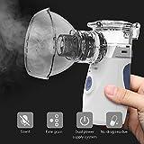 Handheld Atomizer Mute Face Steaming Tool Silent Mini Vaporizer Steam Inhaler with USB