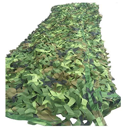 AI LI WEI - Parasol multiusos con red de camuflaje, para exteriores, protección solar, camuflaje, cobertor oculto para el coche, para niños y para esconder hierbas y buscar al aire libre, caza, tiro, camping, lona, 4x6M