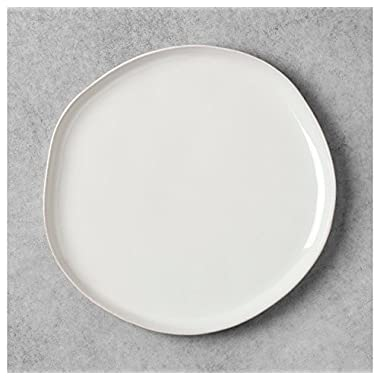 Stoneware white Dinner Plate - Hearth & Hand with Magnolia