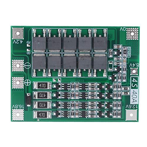 ZZALLL Balance 4S 40A Li-Ion batería de Litio 18650 Cargador PCB BMS Placa de protección Carga equilibrada para Motor de taladro Módulo de celda de lipo de 14,8 V 16,8 V