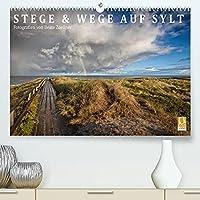 Stege & Wege auf Sylt (Premium, hochwertiger DIN A2 Wandkalender 2022, Kunstdruck in Hochglanz): Die schoensten Wege auf Sylt erkundet man am besten zu Fuss. Dann eroeffnen sich atemberaubende Einblicke, Ausblicke, Perspektiven und Horizonte (Monatskalender, 14 Seiten )