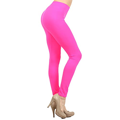 72cae82980f71 NeonNation Colored Seamless Leggings Athletic Pants Costume Party Tights  Quality