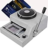 Card Embosser Machine, Colilove Manual PVC Embossing 72 Character Embosser Machine PVC Gif...