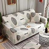 Funda de sofa1 2 3 4 plazas ajustable Cubierta de Sofá elastica Couch Cover mascotas, per cucina, camera da letto, decorazione soggiorno, ufficio o hotel Facile manutenzione,Color 1,2 145-185cm cartel