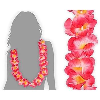 LOT DE 12 COLLIERS HAWAIEN,Fleur,Aloha,Bienvenue,Hawai,Fleur,Déguisement,Fête