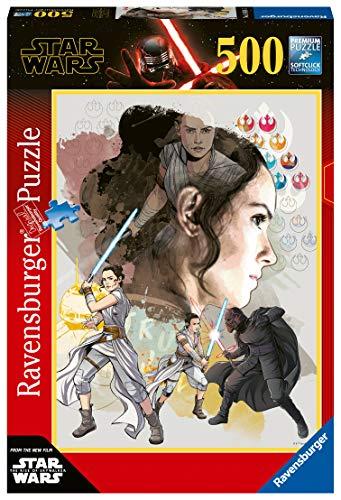 Ravensburger- Puzzle 500 pièces-L'Ascension de Skywalker n°3 Star Wars Monsieur Madame Adulte, 4005556148165