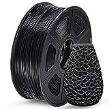 SUNLU PETG 3D Printer Filament, PETG Filament 1.75mm Dimensional Accuracy +/- 0.02 mm, 1 KG Spool, PETG Black…