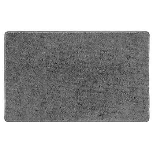 Tappeto HOUDINI - Tappeto multiuso in microfibra con fondo antiscivolo per ingresso, bagno - Lavabile in lavatrice 40x60 cm