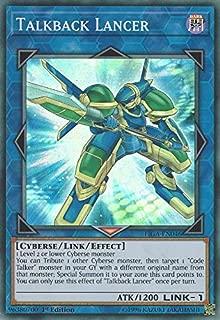 Yu-Gi-Oh! - Talkback Lancer - FIGA-EN046 - Super Rare - 1st Edition - Fists of The Gadgets