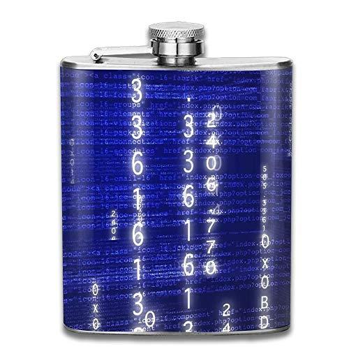 petaca Stainless Steel Hip Flask 7 Oz Information Technology