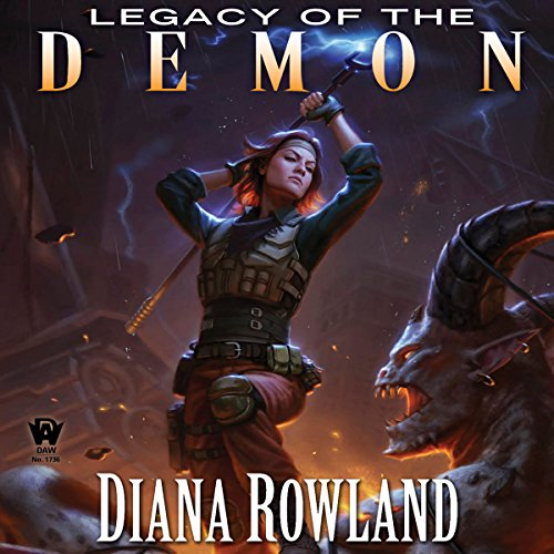 Legacy of the Demon audiobook cover art
