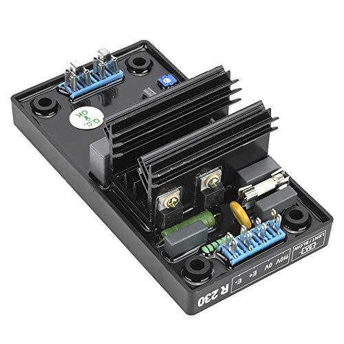 Grupos electrógenos Regulador de voltaje de motor automático ajustable 90-140VAC R230 monitoreo de corriente para reemplazo de alternador de generador sin escobillas