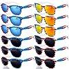 12 バルク7月4日アクセサリー アメリカ国旗 愛国的なサングラス UV400 保護 サングラス 眼鏡 レディース メンズ