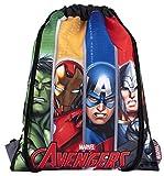 Marvel Comics - Sakky Kids Avengers - Bolsa escolar para niños - Regalo oficial para niños
