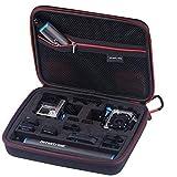Smatree GoPro Hero 7/6/5/4/3+/3/2、DJI Osmo Actionなど対応 収納ケース 携帯便利 防震 防塵