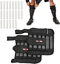 Leg Wrist Weights, Removable Wrist Ankle Weights, 11LB, Adjustable Ankle Weights, Weight Straps for Fitness, for Men Women, for Walking, Jogging, Gymnastics, Aerobics, 1Pair 2 Pack