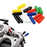 18 PCS Anti-Slipping Switch Rubber Cap Sheath Cover for FrSky X9D QX7 Flysky Spektrum Transmitter