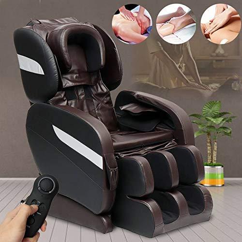 SXXYTCWL Cenicero Sillas Efficient Home Gravedad Cero for sillas de Masaje eléctrico de calefacción de reclinación de Cuerpo Completo Masaje 3D Inteligente Masaje Shiatsu Sofá jianyou