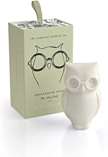 The Somerset Toiletry Soap Wise Owl Motif in Gift Box