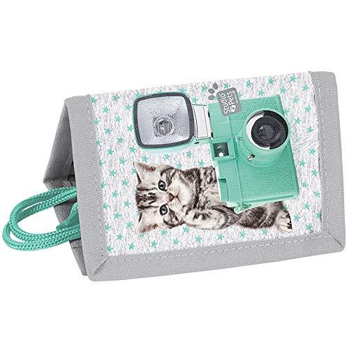 Kinder Portemonnaie 12x8x1,5 cm - Studio Pets - Katze MIT Kamera