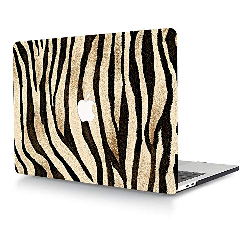 ACJYX Compatible with MacBook Air 13 inch Case Model A1466 & A1369 Older Version 2017 2016 2015 2014 2013 2012 2011 2010, Print Pattern Coated Plastic Protective Hard Shell Case, Black Strips