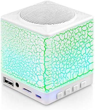 Zunruishop Draagbare Bluetooth Speaker Mini Bluetooth Speaker Draadloze Draagbare Burst Layer Subwoofer Speaker Kleurrijke Licht Nieuwe Outdoor Muziekspeler Luidsprekers Kleur Groen