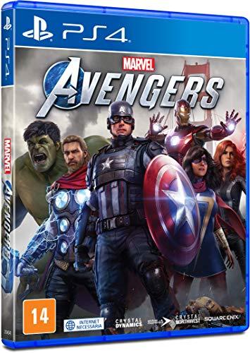 Marvel's Avengers – Edição Padrão- PlayStation 4