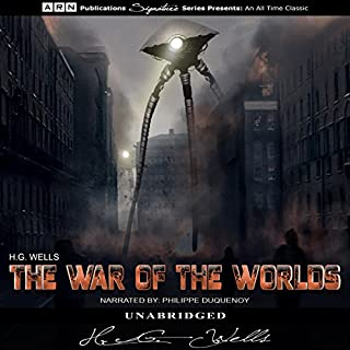 The War of the Worlds                   De :                                                                                                                                 H.G. Wells                               Lu par :                                                                                                                                 Philippe Duquenoy                      Durée : 6 h     Pas de notations     Global 0,0