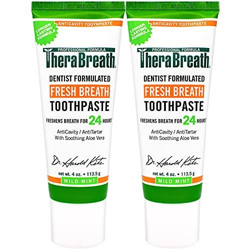 TheraBreath 24-Hour Fresh Breath Toothpaste 4 oz