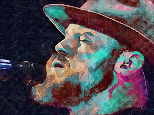 Posters-Galore Zac Brown Band Country Music Art Print Poster