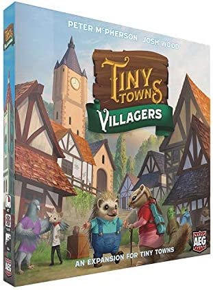 Tiny Towns Villagers Expansion ALD07073 1 6 Players 10 min Setup 45 min Play Time Strategy Board product image