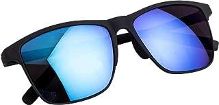 Wayfarer Men's Sunglass (classic 1001, 56, Blue)