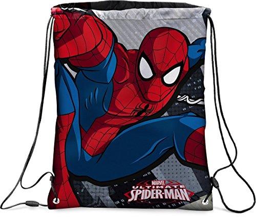 sacca zaino ultimate spiderman - fantasie assortite