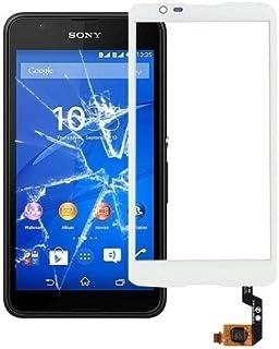 Förnyelse Reparation för skärmskydd IPartsbuy pekskärm för Sony Xperia E4 / E2033 / E2015 Tillbehör (Color : White)