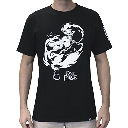 "ABYstyle - ONE PIECE - Tshirt ""ACE"" homme black (S)"