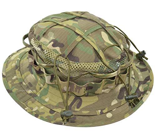 "Giena Tactics Boonie Hat Panama Woodman MOD2 A Lot of Russian Patterns | ""Hillock"" Effect | Adjustable Size (Multicam)"
