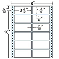 東洋印刷 タックフォームラベル 8インチ ×10インチ 12面付(1ケース500折) RT8C