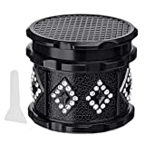 Metal Herb Grinder With Pollen Catcher,Small Herb&Spice Grinder with...