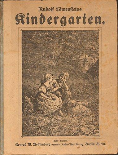 Rudolf Löwensteins Kindergarten.