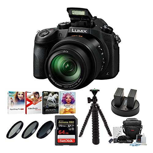 Best Review Of Panasonic LUMIX DMC-FZ1000 16X Long Zoom Digital Camera (Black) with 64GB Deluxe Acce...