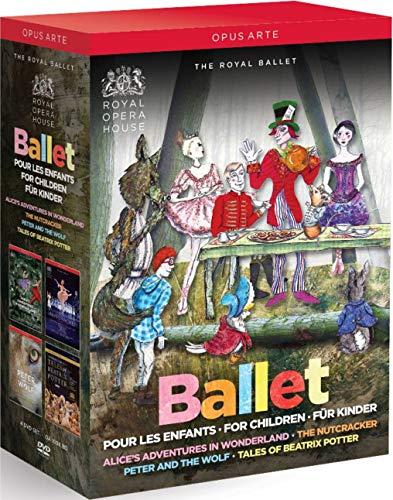 Ballette für Kinder [4 DVDs]