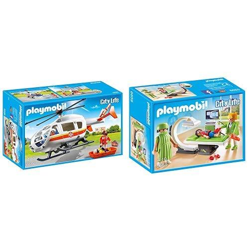 Playmobil 6686 - Rettungshelikopter &  6659 - Röntgenraum