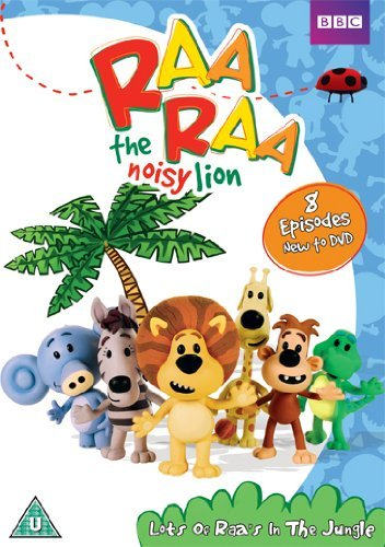 Raa Raa the Noisy Lion - Lots of Raas in the Jungle [Reino Unido] [DVD]
