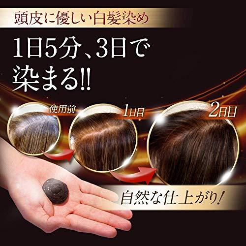 【頭皮に優しい白髪染め】HI-STEPヘアカラートリートメントジアミンフリー(不使用)ノンジアミン女性用ダークブラウンハイステップ