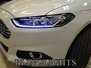 Xtreme White LED DRL Strips Head Lights Day Time Running Lamps Pair 60cm