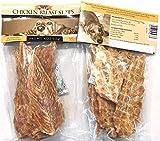 Trader Joe's Chicken Breast Strips Dog Treats 4 Oz. Bags, (2 Pack)