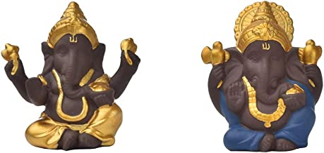 Flameer Ganesha Statue Figurine Hindu God Sculptures Resin