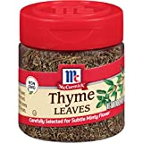 McCormick Thyme Leaves, 0.37 Ounce (Pack of 1)