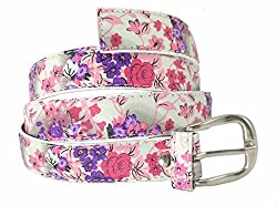 Premium Quality Womens Girls Ladies PU Leather Casual Belt Stylish Trendy Buckle Strap Ideal for Jeans Trousers Cargo Joggers